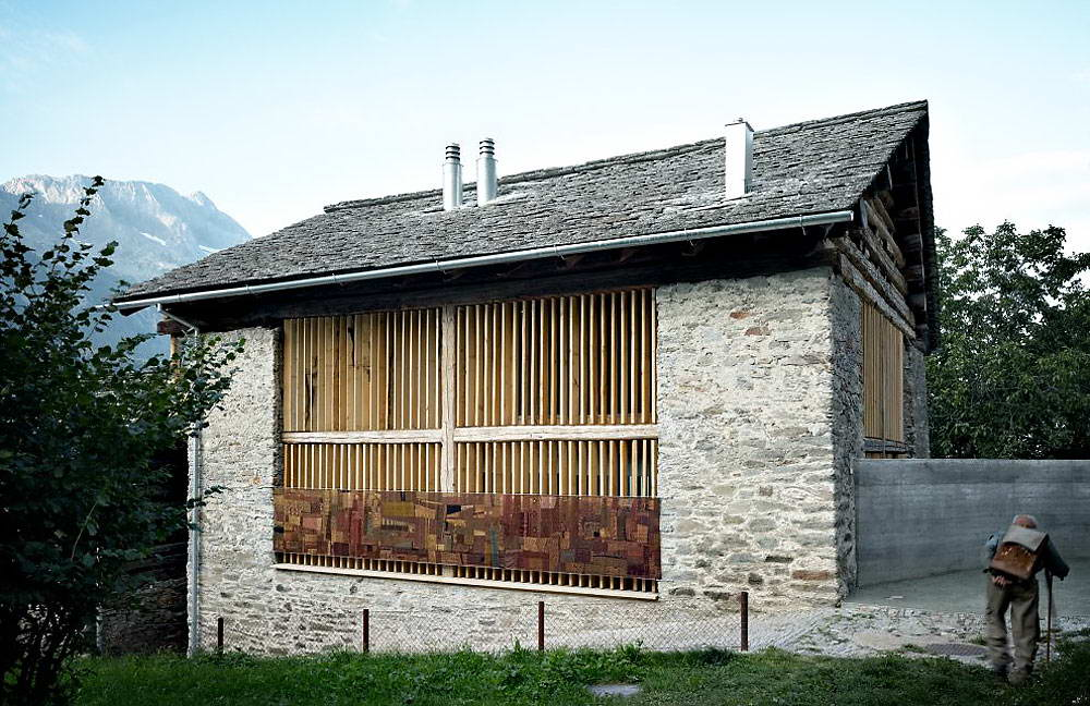 <strong>Maison-grange par « Ruinelli Associati Architetti », Suisse<span><b>Architecture</span></strong><i>→</i>