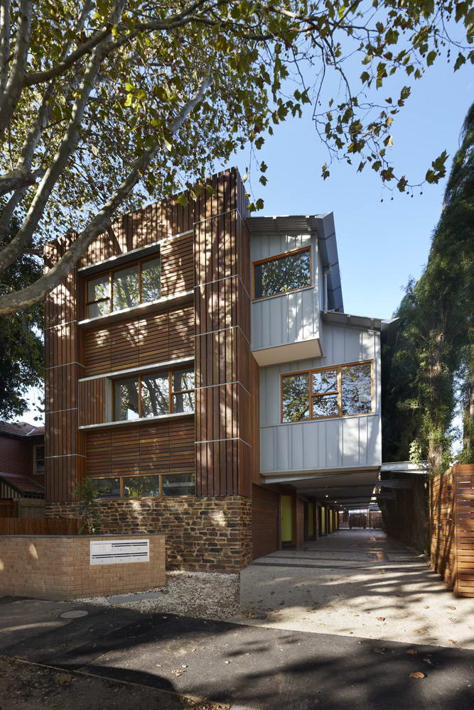 <strong>Townhouse par « Marcus O'Reilly Architects » en Australie<span><b>Architecture</span></strong><i>→</i>