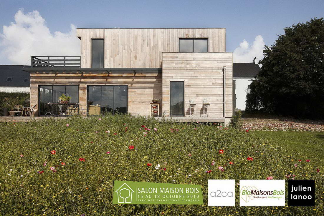 Maison en bois par a2ca architectes france maisons for La maison france 5 architecte
