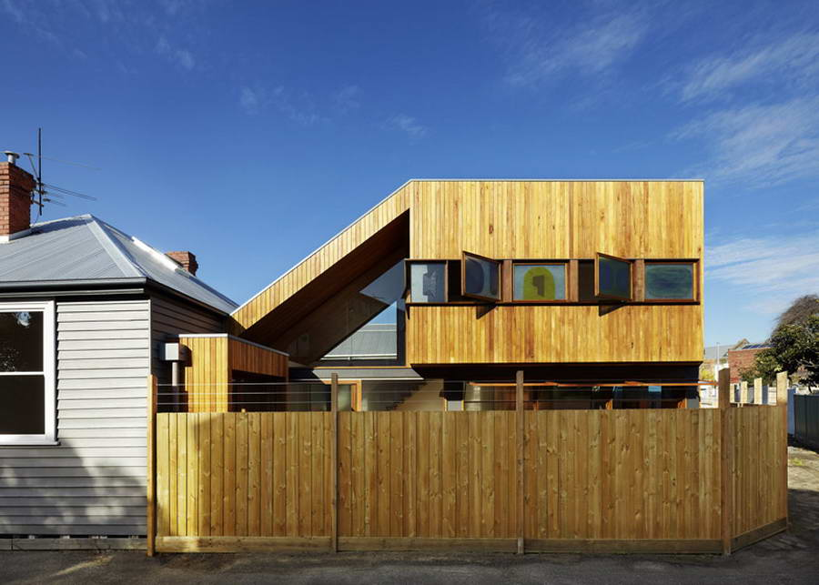 <strong>Fenwick Street House de Julie Firkin Architects en Australie.<span><b>Architecture</span></strong><i>→</i>