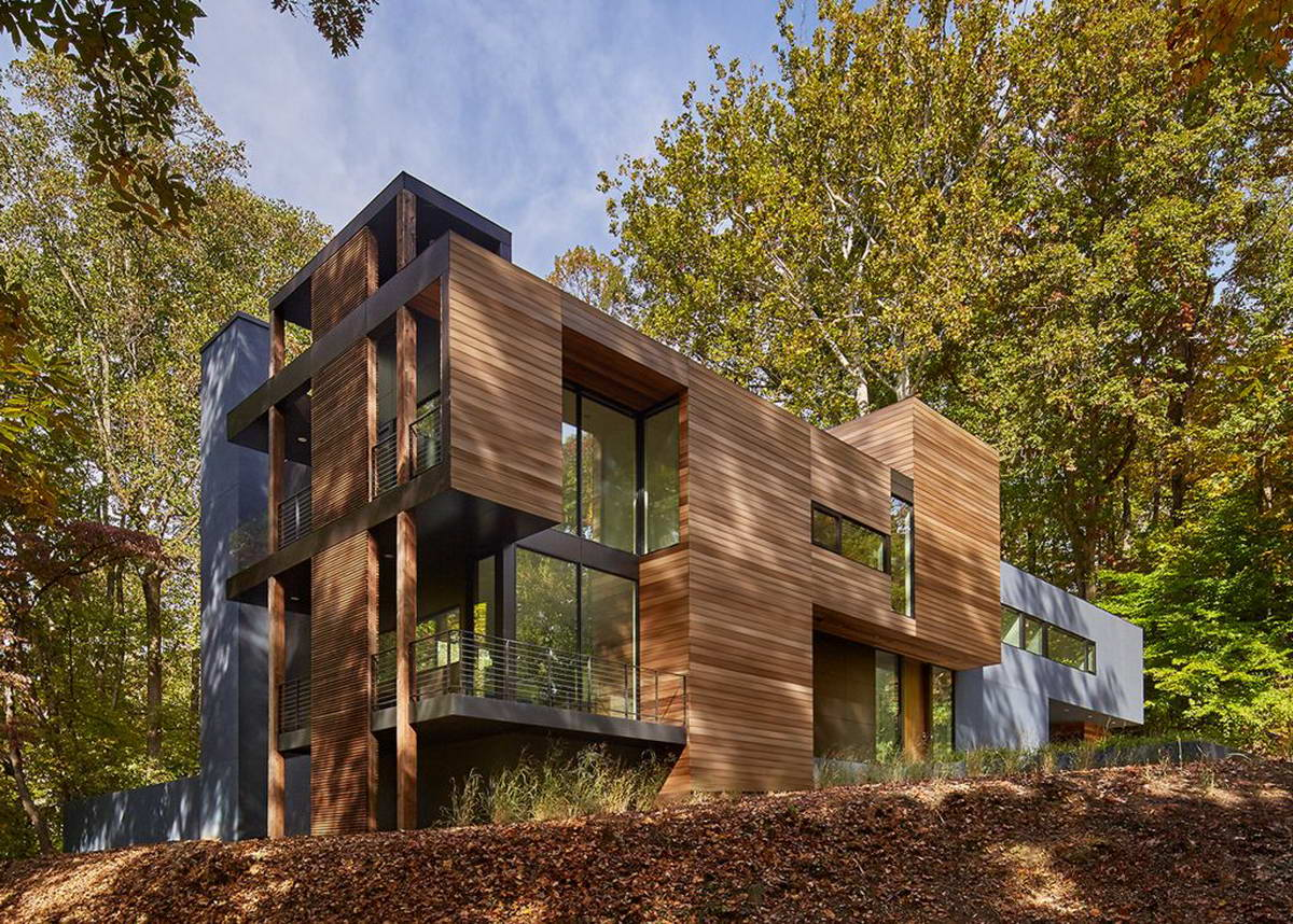 <strong>Projet  Mohican Hills de Robert Gurney aux États-Unis.<span><b>Architecture</span></strong><i>→</i>