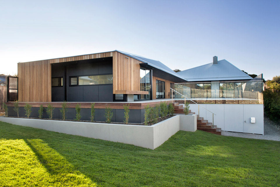 <strong>Sorrento House 1 de Vibe Design Group en Australie<span><b>Architecture</span></strong><i>→</i>