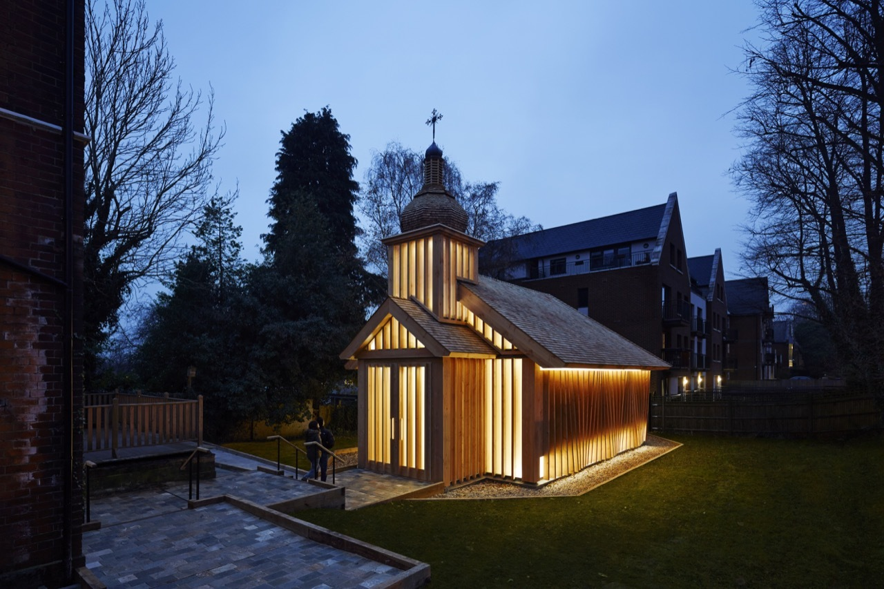 <strong>L'originalité de l'architecture de la Chapelle de Spheron Architects à Londres<span><b>Architecture</span></strong><i>→</i>